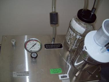 Suction device (close up).