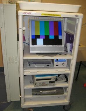 Video recording and display equipment used with na