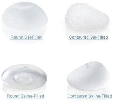 Mentor breast implants.