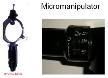 Micromanipulator.