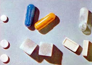 Lysergic acid diethylamide (LSD) in assorted pill