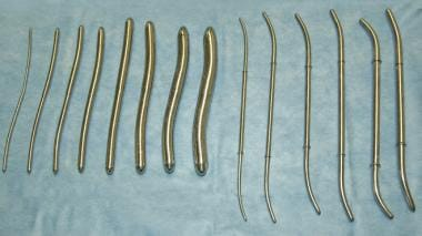 Hegar and Pratt dilators.