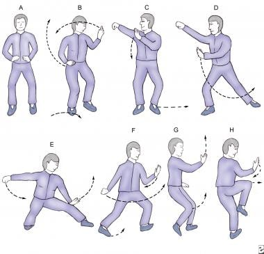 Tai chi chuan may improve an individual's balance